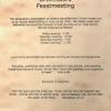 Greensboro Feastmeeting – June 18-20