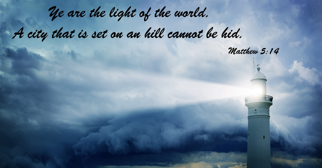 matthew 5:14 light of world can not be hid